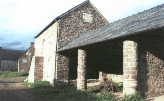 A restored barn and granary