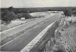 The M50 just before it opened